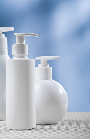 cosmetical set Stock Photo