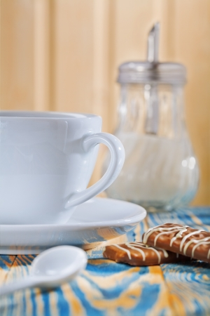 cup dispencer and cookies photo