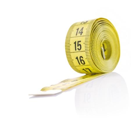 rouleau de ruban � mesurer photo