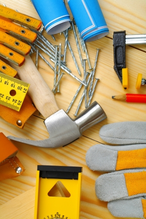 carpentry tools set photo