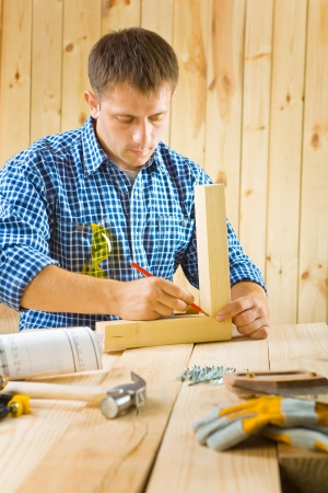 worker sketch Stock Photo - 16335406