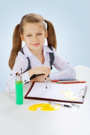 litle: a litle school girl