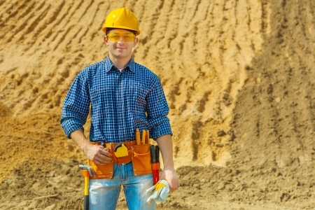 contractor smiling photo