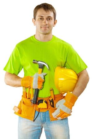 class maintenance: a construction worker