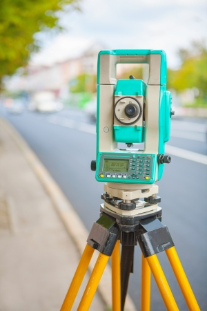 theodolite: electronical theodolite