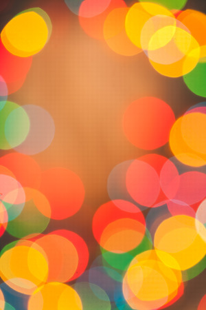 brightly multycolored abstract bokeh