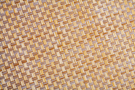 small details: close up view on wicker texture with small details