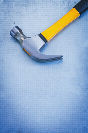 claw hammer: Vertical version of claw hammer with rubber handle