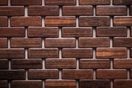 matting: Textured wooden matting close up view backgrounds concept. Stock Photo