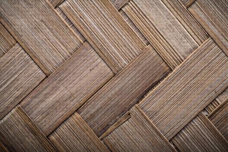 crisscross: Wicker crisscross place mat horizontal image. Stock Photo