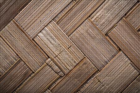 backcloth: Woven textured table mat horizontal image. Stock Photo