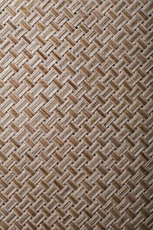 matting: Woven crisscross place matting vertical version. Stock Photo