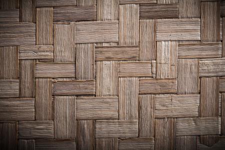 matting: Wicker rowing textured table matting horizontal view.