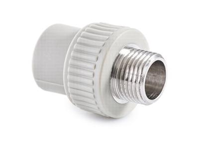 single polypropylene connector isoalted.