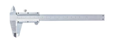 Vernier caliper isolated on white.
