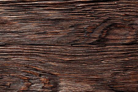 Vintage brown messy wooden background.