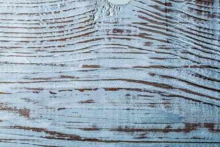 Rough vintage wooden background top view. 写真素材