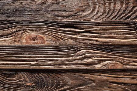 Cerrar textura de madera vintage marrón