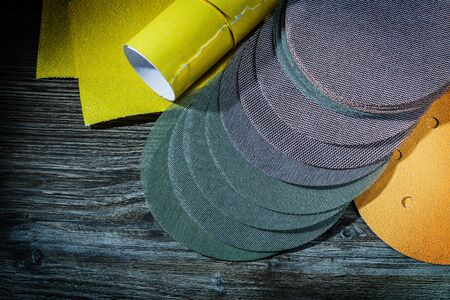 abrasive tools sanding discs and glasspaper