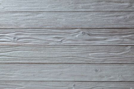 white vintage wooden texture with side light and horizontal oriented planks top view surface of the table to shoot flat lay Stok Fotoğraf