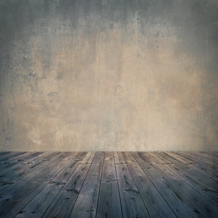 empty space:  Grunge wall, vintage aged old interior stained background 2