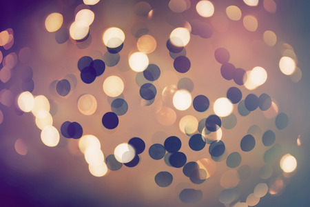 Abstract bokeh glittering light effects background Stock Photo