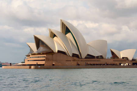 Sydney Opera House during sunset 新聞圖片