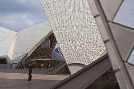 Sydney Opera House - on the 1st of September 2011. Opera will celebrate its 40th anniversary in 2013.