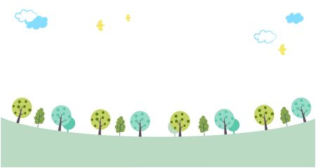 This is an illustration of the green promenade