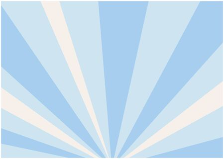 It is an illustration of a blue background spread radially. Vector image.