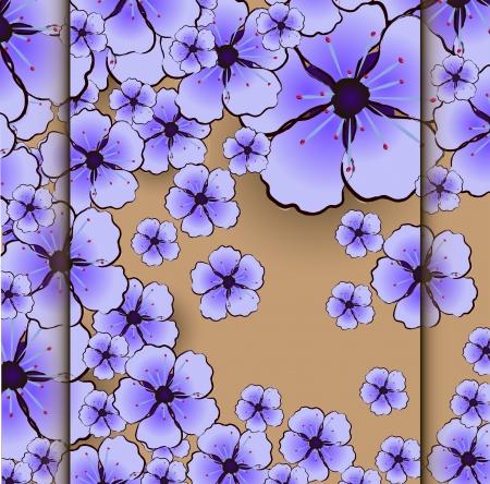flower sacura Vector