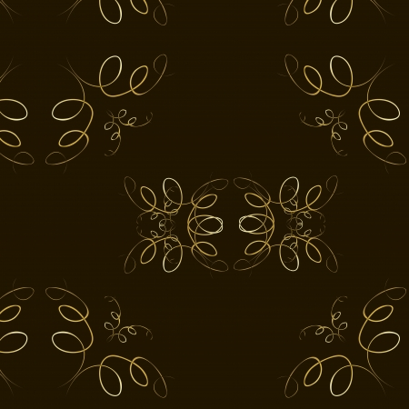 Abstract seamles vector background in victorian style Stock Vector - 18526061