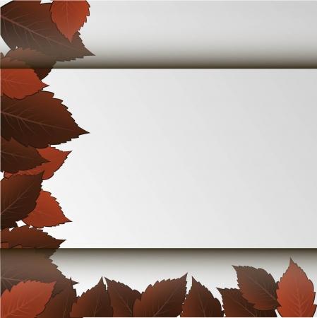 leaves space Illustration