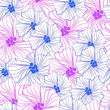 Pattern flowers Stock Photo - 18620200