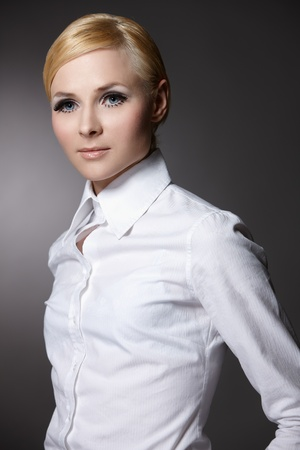 Inspired by Twiggy and 60s Stock Photo - 9650845