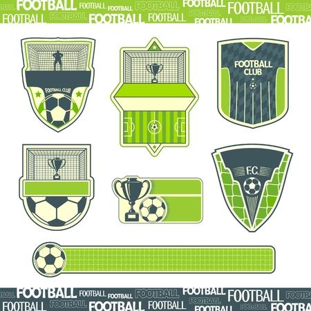 Football symbolism 矢量图像