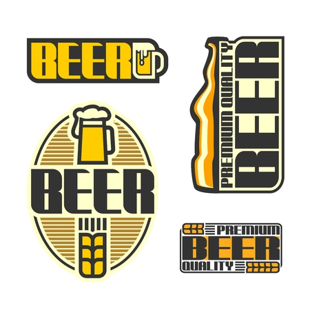 signboard form: Images on beer