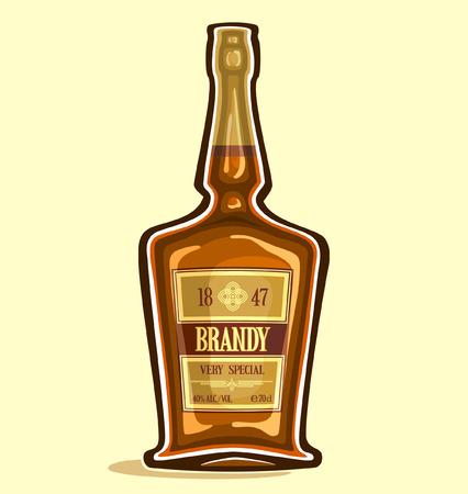 brandy: Brandy in the bottle