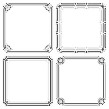 decorative frame: Decorative frame