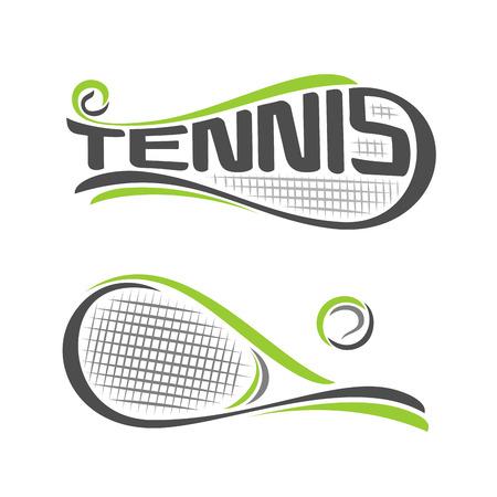 tennis racquet: La imagen en el tema de tenis