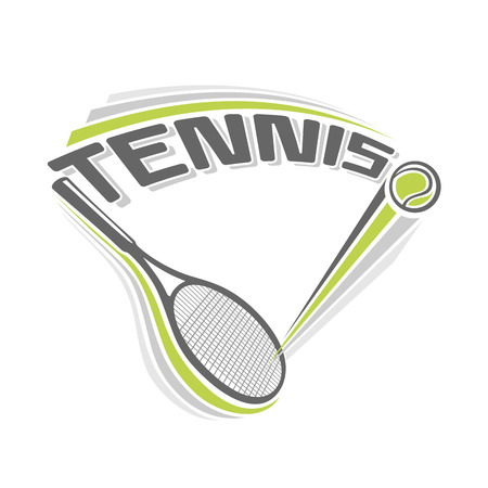 tennis ball: The image on the tennis theme