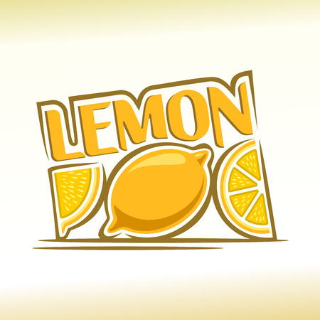 Abstract image of a lemon