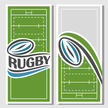 rugby team: Background images for text on the subject of rugby Illustration