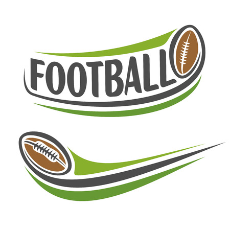american football background: Abstract background on the american football theme