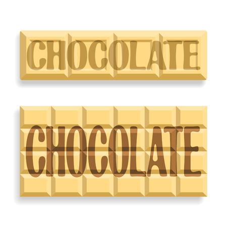 white chocolate: Image of white chocolate Illustration
