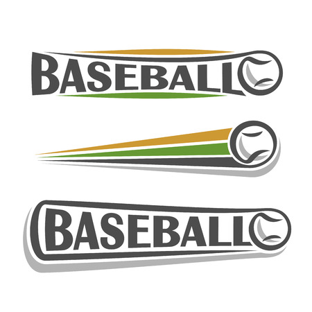 Image on the theme of baseball Vectores