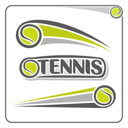 logo marketing: The image on the tennis theme
