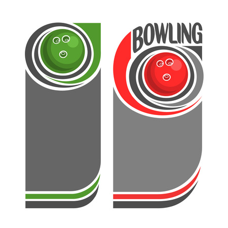 background images: Background images for text on the subject of bowling Illustration