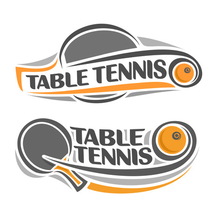 table tennis: The image on the table tennis theme
