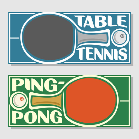 Background images for text on the subject of table tennis
